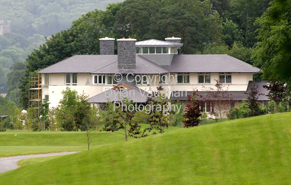 14/6/2006.Denis O' Briens holiday home in Mount Juliet in County KIlkenny..Picture Dylan Vaughan.