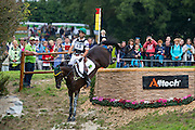 Ruy Fonseca, (BRA), Tom Bombadill Too - Eventing Cross Country test - Alltech FEI World Equestrian Games™ 2014 - Normandy, France.<br /> © Hippo Foto Team - Leanjo de Koster<br /> 30/08/14