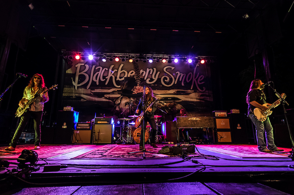 Blackberry Smoke performs at the 2015 Decatur Celebration