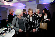 JENNY JEFFERIES; DEBORAH BORDA;, LA Philharmonic reception, Fountain room, Barbican. 27 January 2011 -DO NOT ARCHIVE-© Copyright Photograph by Dafydd Jones. 248 Clapham Rd. London SW9 0PZ. Tel 0207 820 0771. www.dafjones.com.