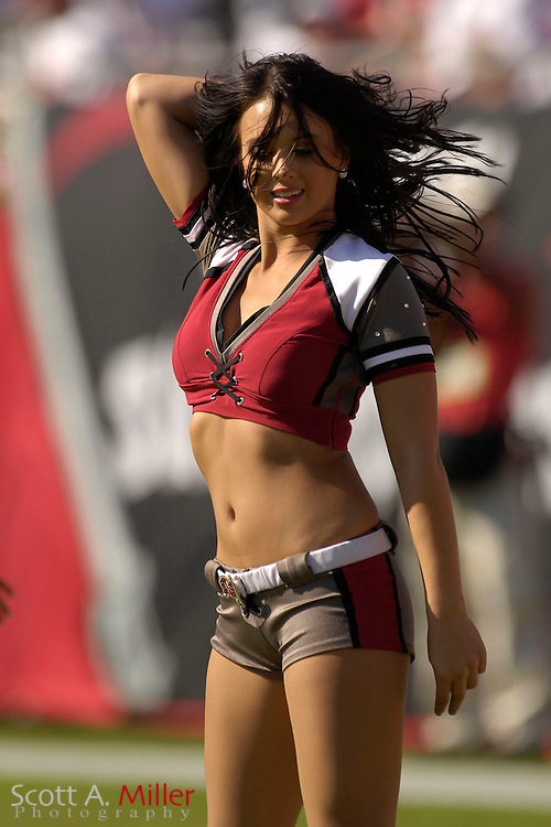 Nov. 19, 2006; Tampa, FL, USA; Tampa Bay Buccaneers cheerleaders in action during the Bucs game against the Washington Redskins at Raymond James Stadium. ...©2006 Scott A. Miller