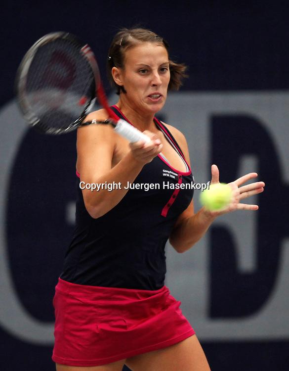 Generali Ladies Linz Open 2010,WTA Tour, Damen.Hallen Tennis Turnier in Linz, Oesterreich,.Andreja Klepac (SLO)