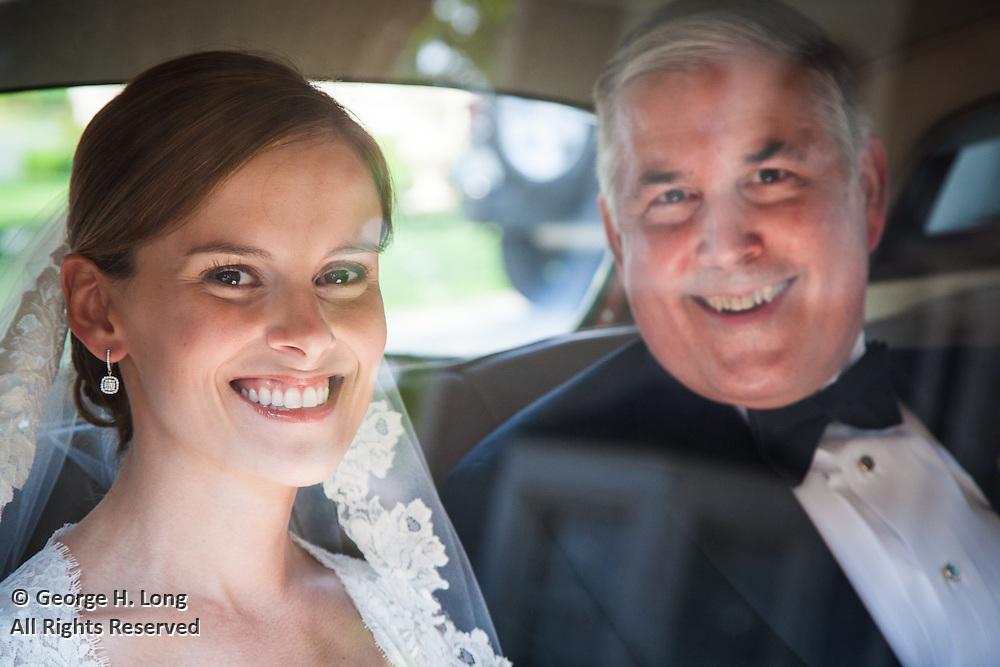 The wedding of Jennifer Hoffman and Christian Mabry