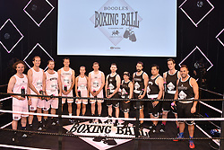 The Boxing teams at the Boodles Boxing Ball, in association with Argentex and YouTube in Support of Hope and Homes for Children at Old Billingsgate London, United Kingdom - 7 Jun 2019 Photo Dominic O'Neil