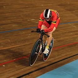 Sam Ligtlee wordt kampioen op de kilometer bij de junioren