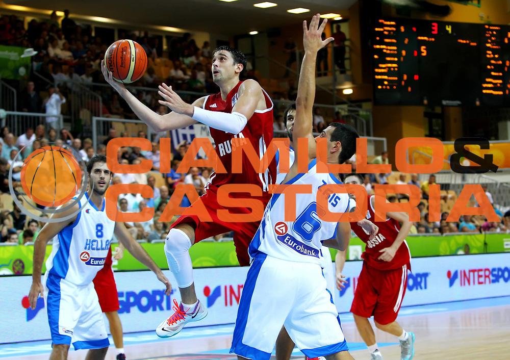 DESCRIZIONE : Koper Slovenia Eurobasket Men 2013 Preliminary Round Grecia Russia Greece Russia<br /> GIOCATORE : Aleksey Shved<br /> CATEGORIA : tiro shot<br /> SQUADRA : Russia Russia<br /> EVENTO : Eurobasket Men 2013<br /> GARA : Grecia Russia Greece Russia<br /> DATA : 05/09/2013 <br /> SPORT : Pallacanestro <br /> AUTORE : Agenzia Ciamillo-Castoria/ElioCastoria<br /> Galleria : Eurobasket Men 2013<br /> Fotonotizia : Koper Slovenia Eurobasket Men 2013 Preliminary Round Grecia Russia Greece Russia<br /> Predefinita :