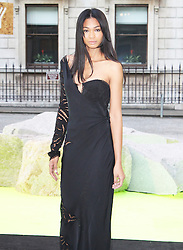 © London News Pictures. 05/06/2013. London, UK.  Chanel Iman at the Royal Academy of the Arts Summer Exhibition 2013 - Preview Party . Photo credit : Brett D. Cove/PiQtured/LNP