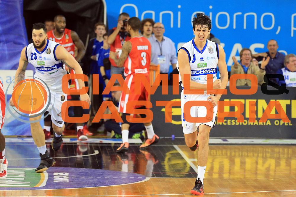 NMarco Lagana<br /> Germani Basket Brescia vs Openjobmetis Varese<br /> Lega Basket Serie A 2016/2017<br /> Citt&agrave; 19/03/2017<br /> Foto Ciamillo-Castoria/A.Gilardi