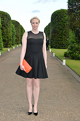 GWENDOLINE CHRISTIE at The Ralph Lauren & Vogue Wimbledon Summer Cocktail Party at The Orangery, Kensington Palace, London on 22nd June 2015.  The event is to celebrate ten years of Ralph Lauren as official outfitter to the Championships, Wimbledon.