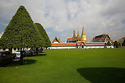 Wat Phra Keo and Grand Palace.