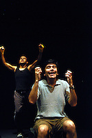 """USA, Chicago, August 4 - 12, 2009.  Founded in 1989 by actress/director Rosario Vargas, Aguijon Theater Company is committed to creating and performing Spanish-language work that """"stings"""" the social consciousness of its audience. Working from its own dedicated space in the Belmont-Cragin neighborhood of Chicago's West Side, Aguijon has built an international reputation, celebrating its 20th anniversary this year with a gala at the National Museum of Mexican Art. Photographs commissioned by HOY newspaper for a feature story."""