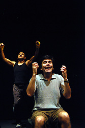 "USA, Chicago, August 4 - 12, 2009.  Founded in 1989 by actress/director Rosario Vargas, Aguijon Theater Company is committed to creating and performing Spanish-language work that ""stings"" the social consciousness of its audience. Working from its own dedicated space in the Belmont-Cragin neighborhood of Chicago's West Side, Aguijon has built an international reputation, celebrating its 20th anniversary this year with a gala at the National Museum of Mexican Art. Photographs commissioned by HOY newspaper for a feature story."