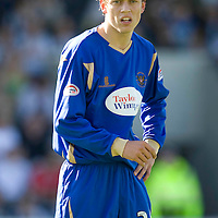 St Johnstone FC 2009-10<br /> Murray Davidson<br /> Picture by Graeme Hart.<br /> Copyright Perthshire Picture Agency<br /> Tel: 01738 623350  Mobile: 07990 594431