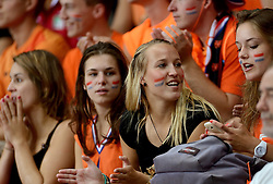 28-09-2014 ITA: World Championship Volleyball Mexico - Nederland, Verona<br /> Nederland wint met 3-0 van Mexico / Oranje support publiek