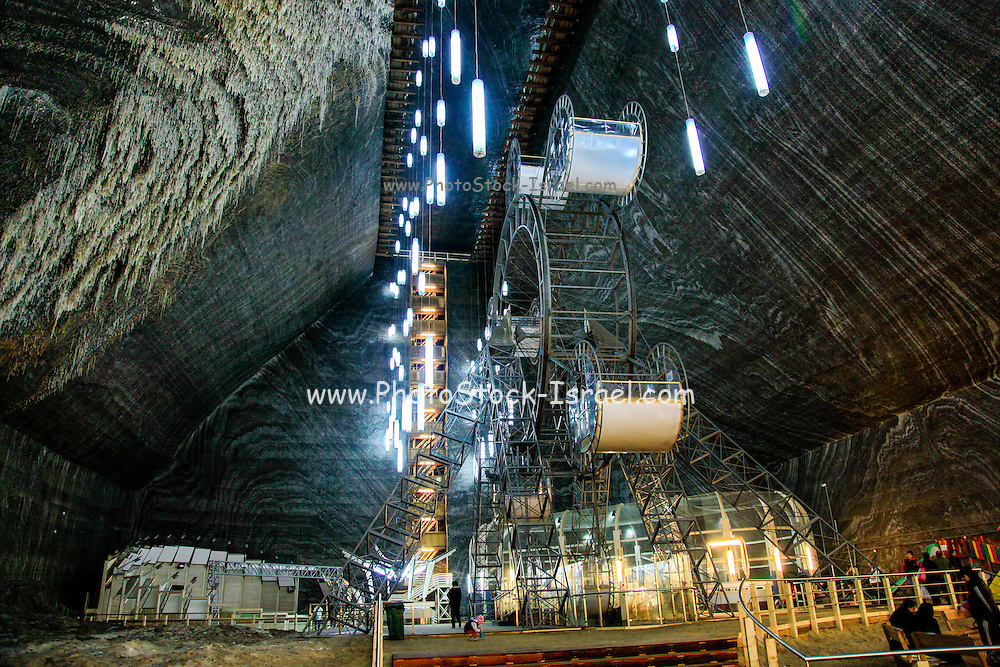 Salina Turda is a salt mine located in Durgau-Valea Sarata area of Turda, Romania