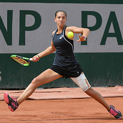 Diane Parry (France) during Day 9 for the French Open 2018 on June 4, 2018 in Paris, France. (Photo by Anthony Dibon/Icon Sport)