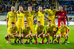 Players of NK Domzale during 2nd leg football match between NK Domzale and NK Siroki Brijeg in 1st Qualifying round of UEFA Europa League, on July 19, 2018 in Domzale Sports Park, Domzale, Slovenia. Photo by Ziga Zupan / Sportida
