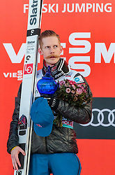 18.03.2018, Vikersundbakken, Vikersund, NOR, FIS Weltcup Ski Sprung, Raw Air, Vikersund, Finale, im Bild Sieger Robert Johansson (NOR) // Winner Robert Johansson of Norway during the 4th Stage of the Raw Air Series of FIS Ski Jumping World Cup at the Vikersundbakken in Vikersund, Norway on 2018/03/18. EXPA Pictures © 2018, PhotoCredit: EXPA/ JFK