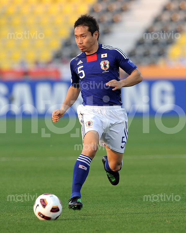Fussball AFC Asian Cup 2011    09.01.2011 Japan - Jordanien Yuto Nagatomo (Japan)