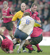 01/02/2004 Parker Pen Challenge Trophy.Saracens v Montferrand.Richard Hill....   [Mandatory Credit, Peter Spurier/ Intersport Images].