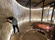 "FREESPACE - 16th Venice Architecture Biennale. Arsenale. Abdulrahman Gazzaz , Turki Gazzaz (Saudi Arabia), ""Spaces in Between""."