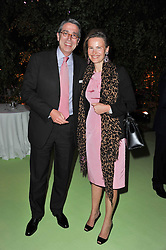 ARNAUD & BENEDICTE de PUYFONTAINE at a dinner hosted by Cartier in celebration of the Chelsea Flower Show held at Battersea Power Station, 188 Kirtling Street, London SW8 on 23rd May 2011.