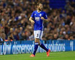 Jonathan Grounds of Birmingham City - Mandatory by-line: Paul Roberts/JMP - 22/08/2017 - FOOTBALL - St Andrew's Stadium - Birmingham, England - Birmingham City v Bournemouth - Carabao Cup