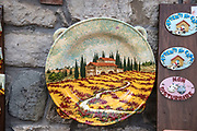 hand painted ceramic plates Montecatini Terme is an Italian municipality in the province of Pistoia, Tuscany, Italy.