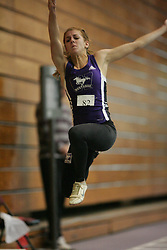 London, Ontario ---11-01-22---   Caroline Ehrhardt of the Western Mustangs competes at the 2011 Don Wright meet at the University of Western Ontario, January 22, 2011..GEOFF ROBINS/Mundo Sport Images.