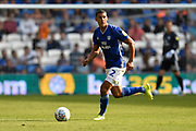 Lee Peltier (2) of Cardiff City during the EFL Sky Bet Championship match between Cardiff City and Middlesbrough at the Cardiff City Stadium, Cardiff, Wales on 21 September 2019.