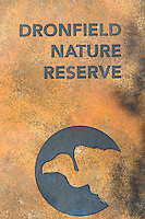Dronfield Nature Reserve entrance sign, Dronfield Nature Reserve, Nothern Cape, South Africa
