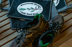 January 19, 2019 - Southern Pines, North Carolina, US - Jan. 19, 2019 - Southern Pines N.C., USA - The 10th Annual Weymouth Woods 100km ultra marathon was held at the Weymouth Woods Nature Preserve. Runners needed to complete 14 laps of the 4.47 mile course for 62.58 miles in under the 20-hour time allotment. (Credit Image: © Timothy L. Hale/ZUMA Wire)