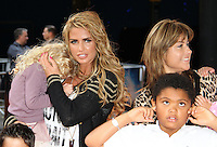 Katie Price; Princess Tiaamii; Harvey The Lion King 3D - UK film premiere, BFI IMAX, Waterloo, London, UK. 25 September 2011 Contact: Rich@Piqtured.com +44(0)7941 079620 (Picture by Richard Goldschmidt)