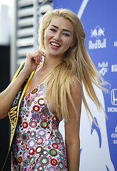 June 23, 2018 - Le Castellet, France - Motorsports: FIA Formula One World Championship 2018, Grand Prix of France, ..Angelina Kali, Miss Monaco GP  (Credit Image: © Hoch Zwei via ZUMA Wire)