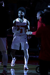 05 November 2017:  Keyshawn Evans during aLewis College Flyers and Illinois State Redbirds in Redbird Arena, Normal IL