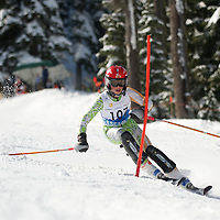 Boys Slalom 2nd run - Cascade Cup 2013