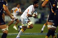 Fritz Lee on the run.Super 14 rugby union match, Brumbies v Cheifs, Canberra, Australia. Saturday 19 February 2011. Photo: Paul Seiser/PHOTOSPORT.../SPORTZPICS
