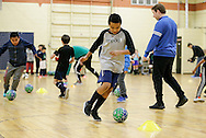 December 7, 2016: OKC Energy FC hosts the OKCPS clinic at Arenas Sports Center in Oklahoma City, Oklahoma.