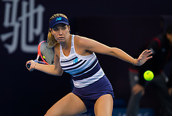 September 29, 2018 - Danielle Collins of the United States in action during her first-round match at the 2018 China Open WTA Premier Mandatory tennis tournament (Credit Image: © AFP7 via ZUMA Wire)