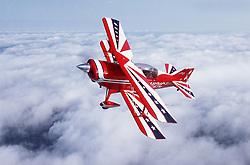 Pitts biplane