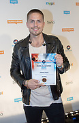 2018, Oktober 01. TivoliVredenburg, Utrecht. Buma NL Awards 2018. Op de foto: Andre Hazes