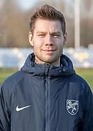 FODBOLD: Assistenttræner Jesper Korsbjerg ved Ølstykke FC's officielle fotosession den 4. april 2019 på Ølstykke Stadion. Foto: Claus Birch