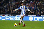 Huddersfield Town's Christopher Schindler during the Premier League match between Huddersfield Town and West Ham United at the John Smiths Stadium, Huddersfield, England on 13 January 2018. Photo by Paul Thompson.
