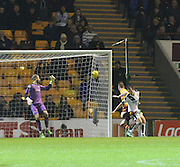 Motherwell&rsquo;s Stephen Pearson scores his side's third goal - Motherwell v Dundee - Ladbrokes Premiership at Fir Park<br /> <br /> <br />  - &copy; David Young - www.davidyoungphoto.co.uk - email: davidyoungphoto@gmail.com
