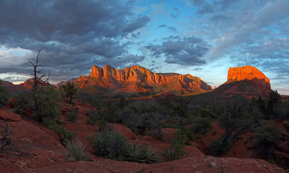 Rock of Gibraltar & Courthouse Butte