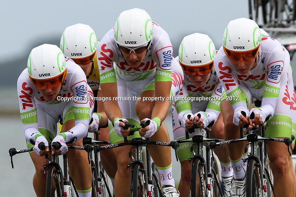 Brainwash Ladiestour Dronten Team Time Trail Skil Argos cycling team; Suzanne de Goede; Janneke Kanis; Amy Pieters; Monique van der Ree; Esra Tromp; Adrie Visser