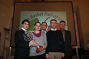 2° cerimonia Italia Basket Hall of Fame classe 2007