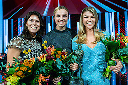 18-12-2019 NED: Sports gala NOC * NSF 2019, Amsterdam<br /> The traditional NOC NSF Sports Gala takes place in the AFAS in Amsterdam / Martine Smeets, Tess Wester, Rinka Duijndam