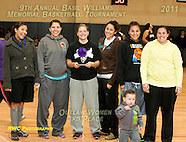 Basketball 2011 Basil Williams Contest winners