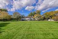 """Lasata, or """"place of peace,"""" Designed by architect Arthur Jackson and built in 1917, is universally recognized as one of the most beautiful homes in America. Summer home to the Bouvier family through the 1920s.  Jackie Kennedy Onassis spent many a childhood summer at this huge estate, Further Lane, East Hampton, NY NY"""